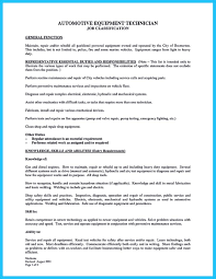 sample resume auto mechanic auto mechanic resume sample hvac