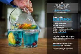 blue cocktails something blue blanc de bleu for your big day a sparkling