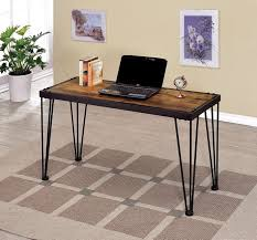 Wood Entry Table Furniture Of America Cm4118s Dido Collection Industrial Style