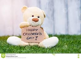 s day teddy happy children s day stock image image of holding idea 71846565