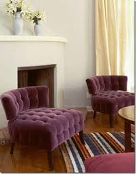 Decorating With Plum Purple Violet Plum Magenta Blue Color Scheme Dining Room Living
