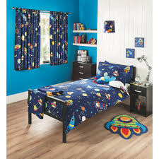 Outer Space Curtains Kids by George Home Space Bedroom Range Baby Bedding George At Asda