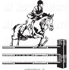 royalty free black and white stock horse designs page 2