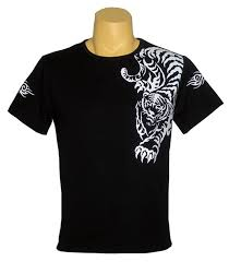 t shirt designs tiger black t shirt design shirts