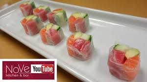where to buy rice wrappers rice paper sashimi roll how to make sushi series