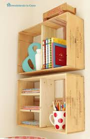 wooden crate wall shelves 125 best diy wine craft ideas images on pinterest wine crates