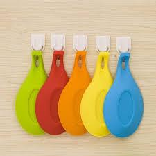 ustensile de cuisine en silicone 1 pc silicone cuillère il résistant à la chaleur ustensile spatule