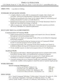 collection of solutions resume samples career objective on