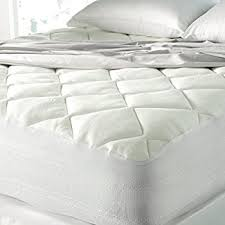 amazon com bamboo mattress pad with fitted skirt extra plush