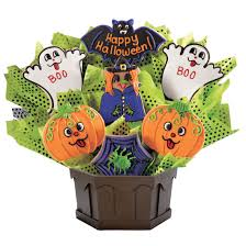 halloween bouquet halloween gift cookies by design