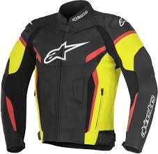 motor leather jacket alpinestars motorcycle leather clothing leather jackets buy