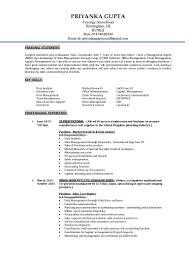 Sales Coordinator Job Description Priyanka Gupta Cv