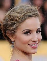 plait hairstyles for short hair 16 best braid hairstyles for short hair images on pinterest long