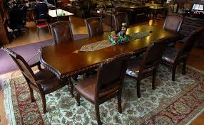 Silver Dining Tables Buy Antoinette Dining Room Set In Cherry Mahogany Finish By