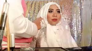 tutorial hijab syar i untuk pengantin tutorial hijab syar i for wedding youtube