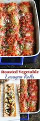 Roasted Vegetable Recipes by Roasted Vegetable Lasagne Rolls Recipe Cookin Canuck