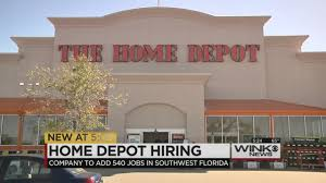 home depot thanksgiving hours home depot is bringing over 500 jobs to swfl
