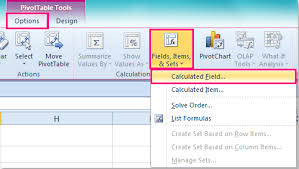How To Remove Pivot Table How To Remove Calculated Field From Pivot Table