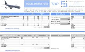 travel budget images Travel budget plan jpg