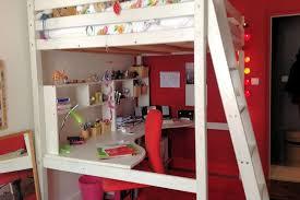chambre fille avec lit mezzanine mezzanine chambre idées de décoration capreol us