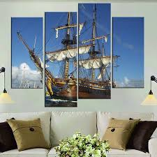 Boat Decor For Home by Online Get Cheap Sailing Boat Poster Aliexpress Com Alibaba Group