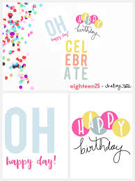 printable birthday note cards eighteen25