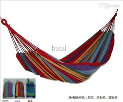 swing hanging hammock single person outdoor camping canvas chair
