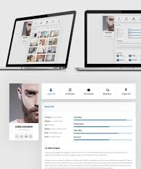 Resume Template Website 25 Best Free Resume Cv Templates Psd Download Download Psd
