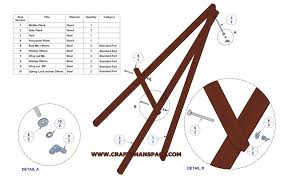 how to make a simple table top easel lightweight tripod easel plan