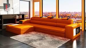 Orange Sofa Bed by Orange Sofa 86 With Orange Sofa Jinanhongyu Com