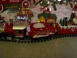 coca cola trains around the christmas tree youtube