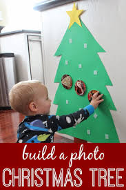 build a photo christmas tree for babies u0026 toddlers kid