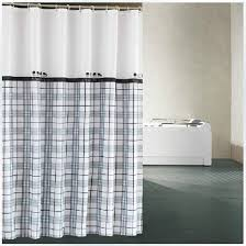 Thick Black Curtains Cow Shower Curtains Thick Black And White Checked For