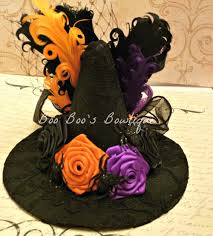 sale mini witch hat fascinator halloween hat halloween witch