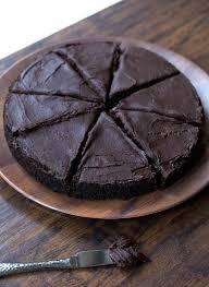 dark chocolate eclipse cake