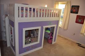 bedroom charming ana white a u0027s full size loft bed diy projects