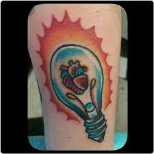 broken lantern tattoo