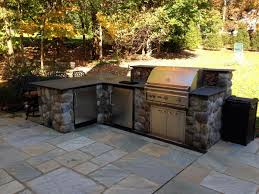 outdoor kitchen natural stone design installation cipriano
