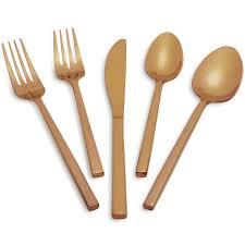 sur la table flatware fortessa lucca faceted gold flatware sur la table fortune style