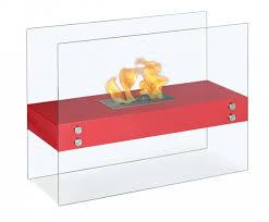 vitrum h u2013 freestanding ventless ethanol fireplace