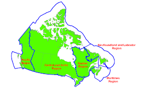 regions of canada map file map showing operating regions of the canadian coast guard png