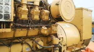 cat genset ship machinery used recondition