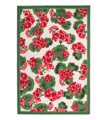 8 X 10 Outdoor Rug Indoor Outdoor Geranium Floral Rug 8 X 10 Collection