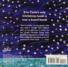 dream snow eric carle 9780399173141 amazon com books