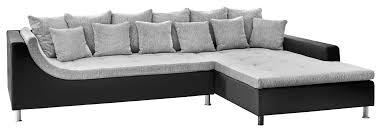 schlafsofas von poco polsterecke montego grau schwarz u0026 9654 online bei poco kaufen