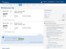 spirit baggage fees 79 88 seattle to from la u0026 las vegas nonstop in spring r t