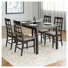 Atwoods Outdoor Furniture - atwood 5 piece dining set taupe stone corliving target