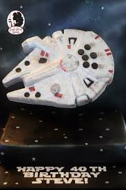 flying millennium falcon cake star wars episode 7 cakes