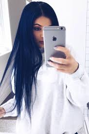 kylie jenner navy blue hair not that i u0027m a fan of kylie or