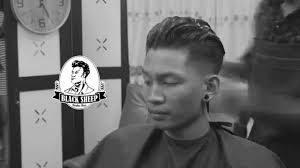 g eazy hairstyle g eazy inspired haircut tutorial by blacksheep barber shop th